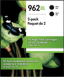 HP 962XL 2-pack High Yield Black