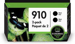 HP 910 2-pack Black Original Ink
