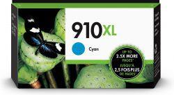 HP 910XL High Yield Cyan Original Ink