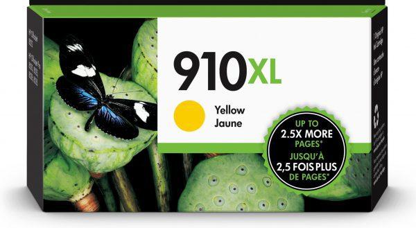 HP 910XL High Yield Yellow Original Ink