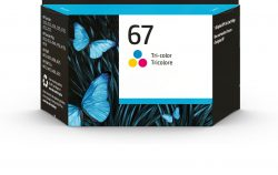 HP 67 Tri-color Original Ink