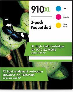 HP 910XL 3-pack High Yield