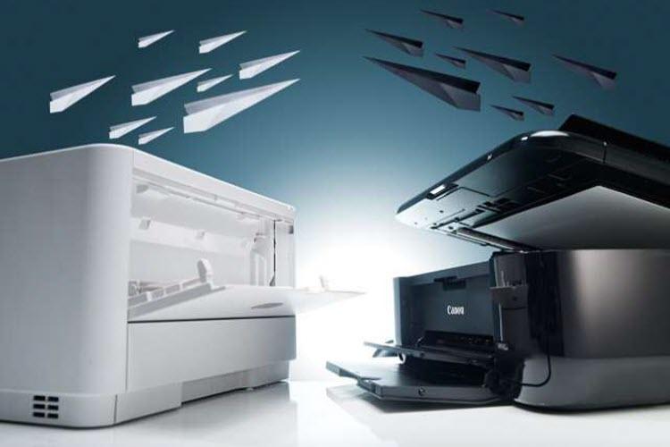 Inkjet and Laser Printers
